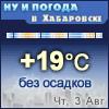 Ну и погода в Хабаровске - Поминутный прогноз погоды